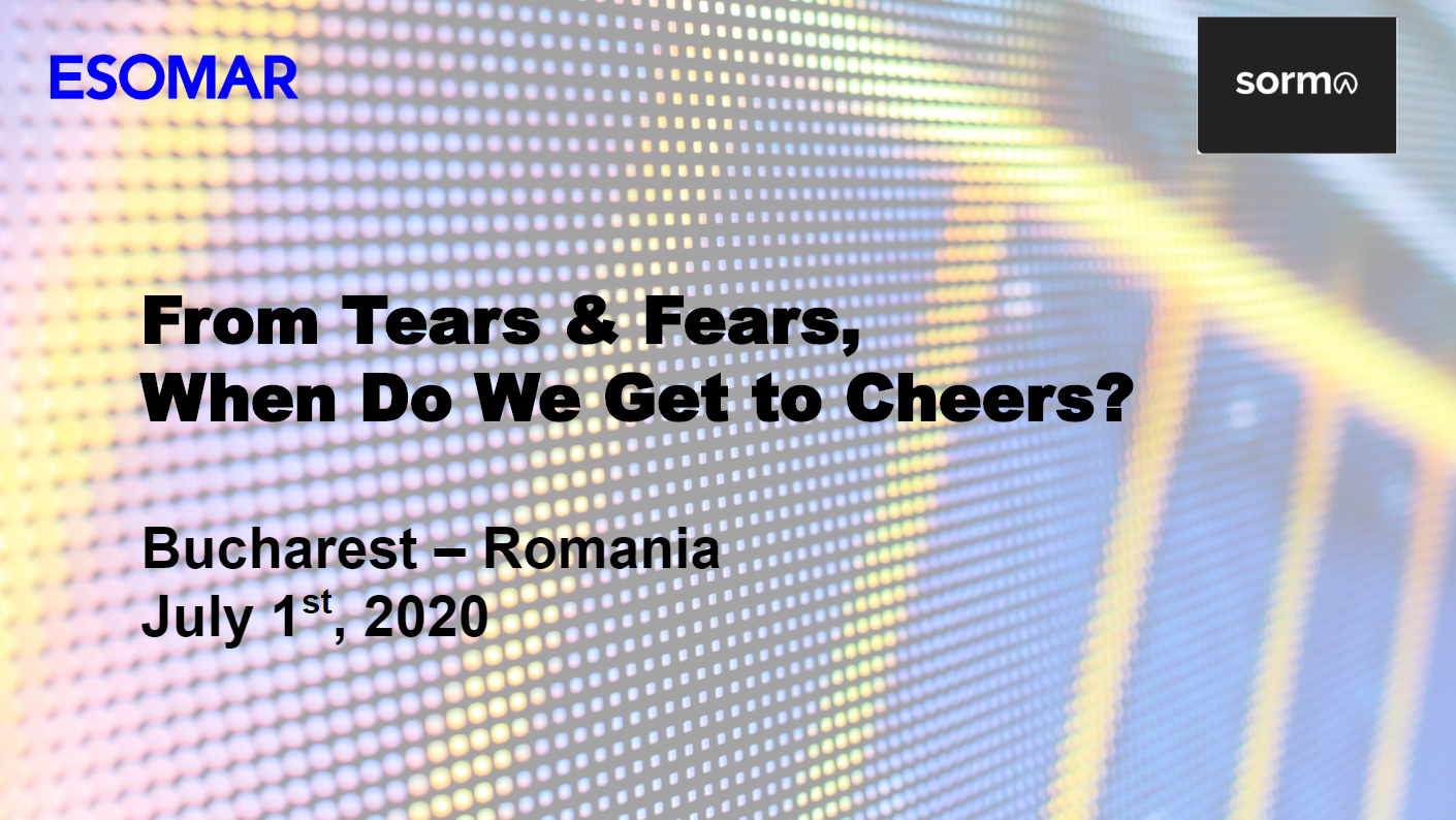 From fears and tears to Cheers