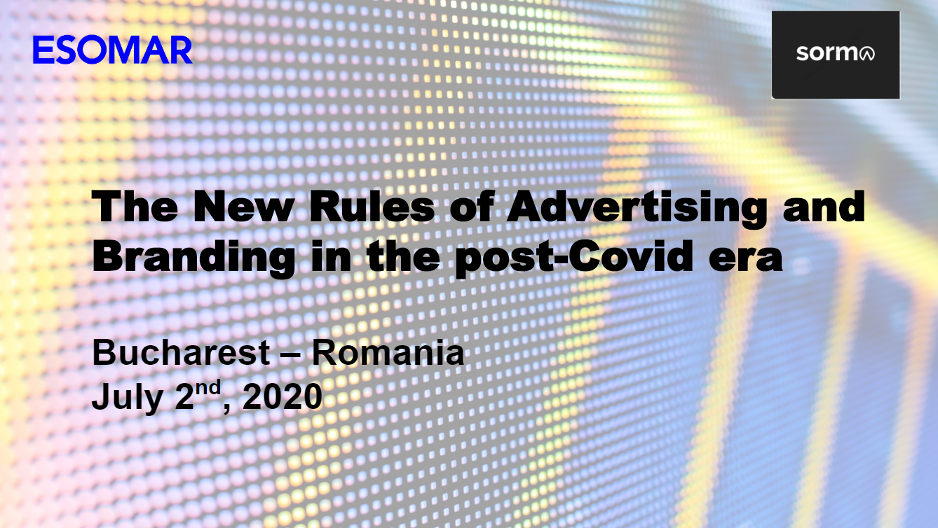The new rules of Advertising in the post Covid Era